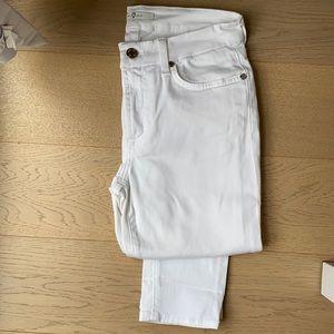 7 for all mankind white jean/leggings.
